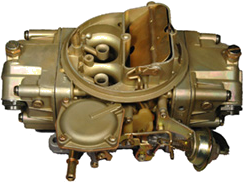Photograph of a 4-barrel Holley Carburetor